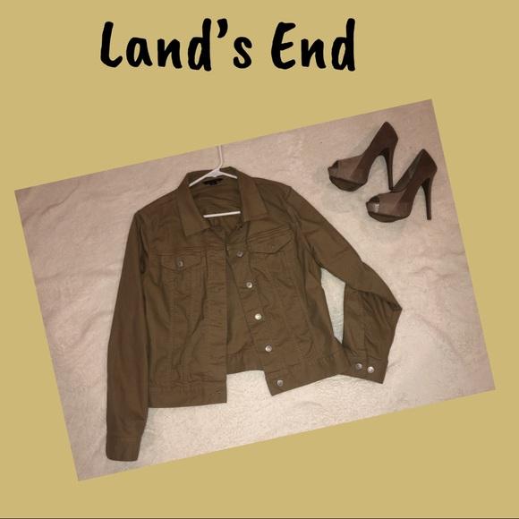 Lands' End Jackets & Blazers - Land's End Jacket